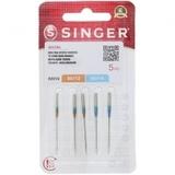 Quilting Needles, Singer (5pk) - Assorted