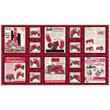 Quilting Treasures, Farmall Ads Fabric Panel