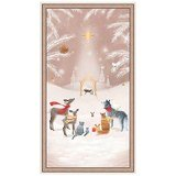 Quilting Treasures, Woodland Dream Nativity Fabric Panel