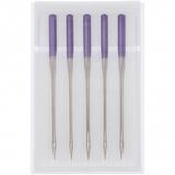 5pk Purple Tip Needles (15x1), Janome #202122001