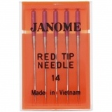 Red Tip Needle 15x1 (5pk), Janome #990314000