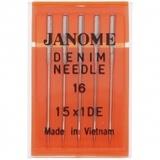 Denim Needles 15x1, Janome #990416000