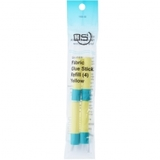Quilters Select, Fabric Glue Stick Refills - 4pk