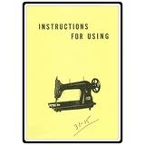 Instruction Manual, Singer 31-27
