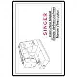 Instruction Manual, Singer 3116 Simple