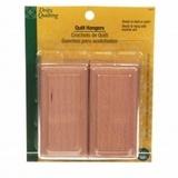 Dritz Wooden Quilt Hangers - 2pk