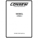 Instruction Manual, Consew 339RB-3