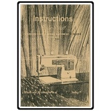 Instruction Manual, Singer 347
