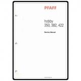 Service Manual, Pfaff 382