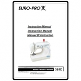 Instruction Manual, Euro Pro 385X