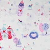 Studio E, Unicorn Kisses, Castles and Carriages Fabric