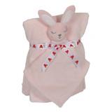 Embroidery Buddy Blankey Set - Bunny (Pink)