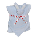 Embroidery Buddy Blankey Set - Bunny (Blue)