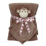Embroidery Buddy Blankey Set - Monkey