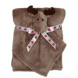 Embroidery Buddy Blankey Set - Moose