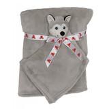 Embroidery Buddy Blankey Set - Husky