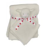 Embroidery Buddy Blankey Set - Lamb