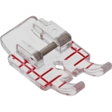 "Clear 1/4"" Piecing Foot, Viking #4129274-47"