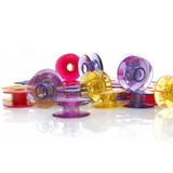 20pk Watercolored Bobbins, Viking #4131477-45
