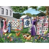 Quilt in the Backyard 500pc Jigsaw Puzzle