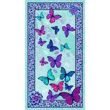 Viva Terra, Butterfly Fabric Panel