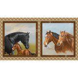 Studio E, Horse Fabric Panel