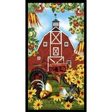 Studio E, Farmer's Market, Barn Fabric Panel