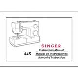 Instruction Manual, Singer 44S