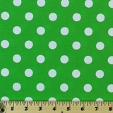 Moda Classic, Medium Dottie, Kelly Fabric