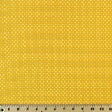 Moda Classic, Small Dottie, Yellow Fabric