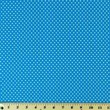 Moda Classic, Small Dottie, Turquoise Fabric