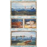 Wilmington, Reel Em' In Fishing Fabric Panel