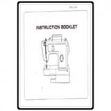 Instruction Manual, Riccar 939FA