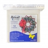 """Single Sided Fusible Foam Stabilizer, 6"""" Squares 12pk"""