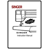 Instruction Manual, Singer 5040