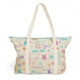 Canvas Weekend Tote - Notions
