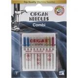 10pk Organ Needles Combi - Assorted 70-100