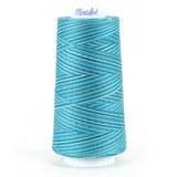 Maxi-Lock Swirls Serger Thread - Blue Water Ice (3,000yds)