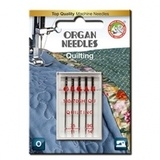 5pk Organ Quilting Needles (130/705H) - Assorted Sizes 75-90