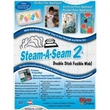 "Steam-A-Seam 2, Double Stick Fusible Web - 9""x12"" (5pk)"