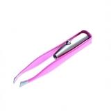 LED Neon Tweezers (1pk) - Neon Pink