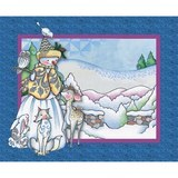 Springs Creative, Woodland Snowman Fabric Panel