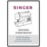 Instruction Manual, Singer 5400