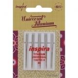 Inspira Titanium Machine Needles (5pk)