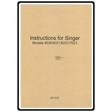 Instruction Manual, Singer 6221