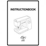Instruction Manual, Janome 6260