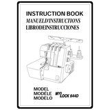 Instruction Manual, Janome (New Home) 644D