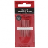 Richard Hemming & Son Milliners Needles - Size 11