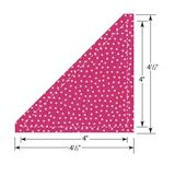 Sizzix Bigz Die, Half-Square Triangles 4-1/2""