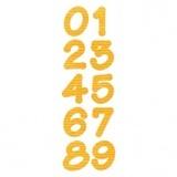 Sizzix Bigz Die, Lollipop Shadow Numbers Set (2 Dies)